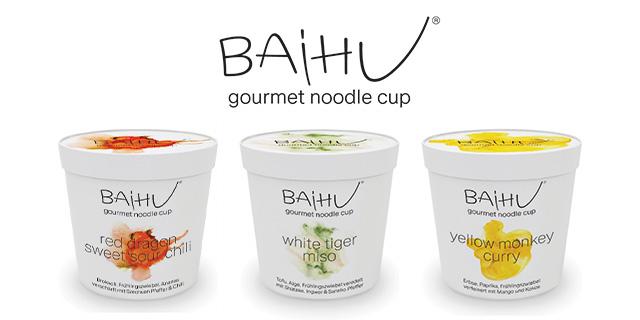 [GzG] BAiHU Gourmet Noodle Cups Gratis Testen (Coupies) Einlösbar: Kaufland, Real und Globus
