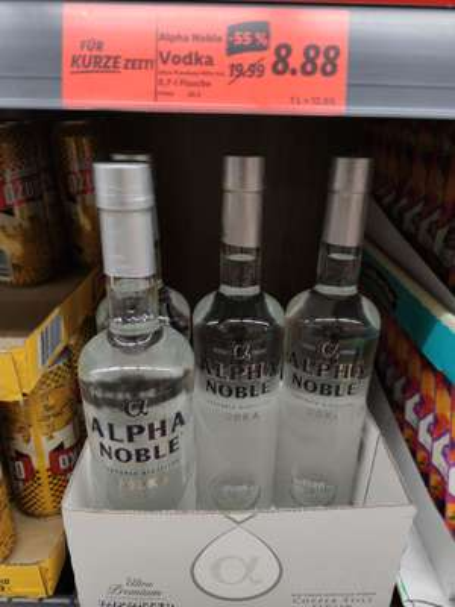 Alpha Noble Vodka 0,7L (Lidl bundesweit)