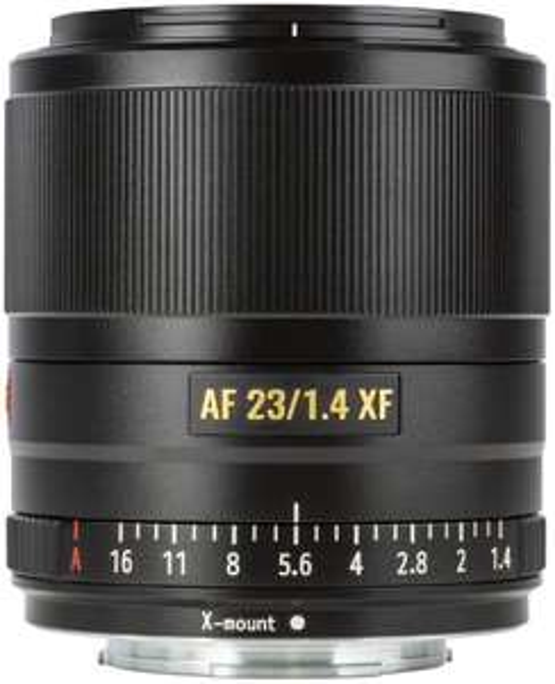 10% Rabatt auf alle Viltrox Artikel: z.B. Viltrox XF 23mm F1.4 Objektiv für Fujifilm X-Mount