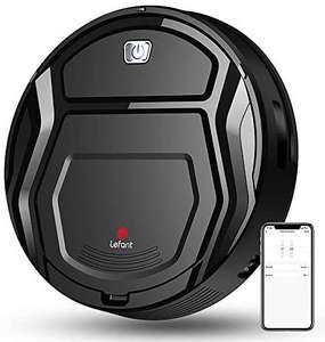 Lefant-M201 Mini Staubsaugerroboter Kollisionssensor, WiFi / App / Alexa, Amazon.Fr