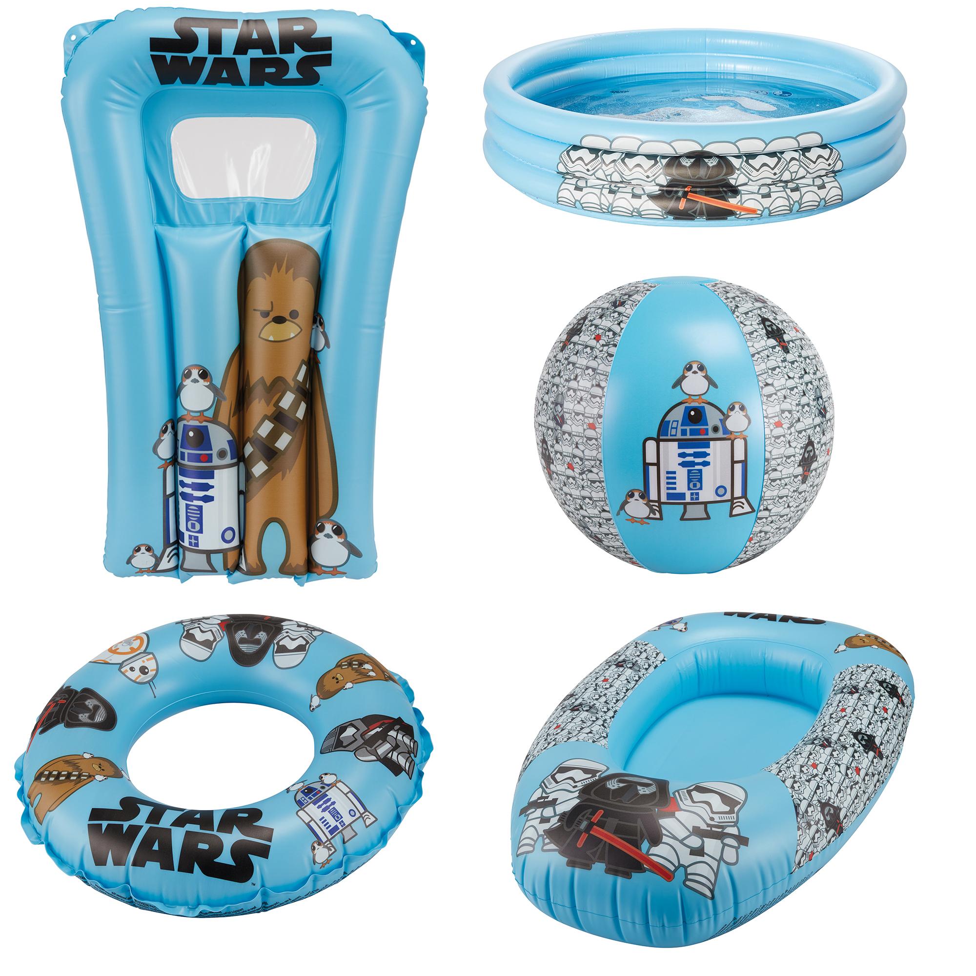 Happy People 5-teiliges Kinder Strand-Set Wasserspiel Star Wars HOOT [DEALCLUB]