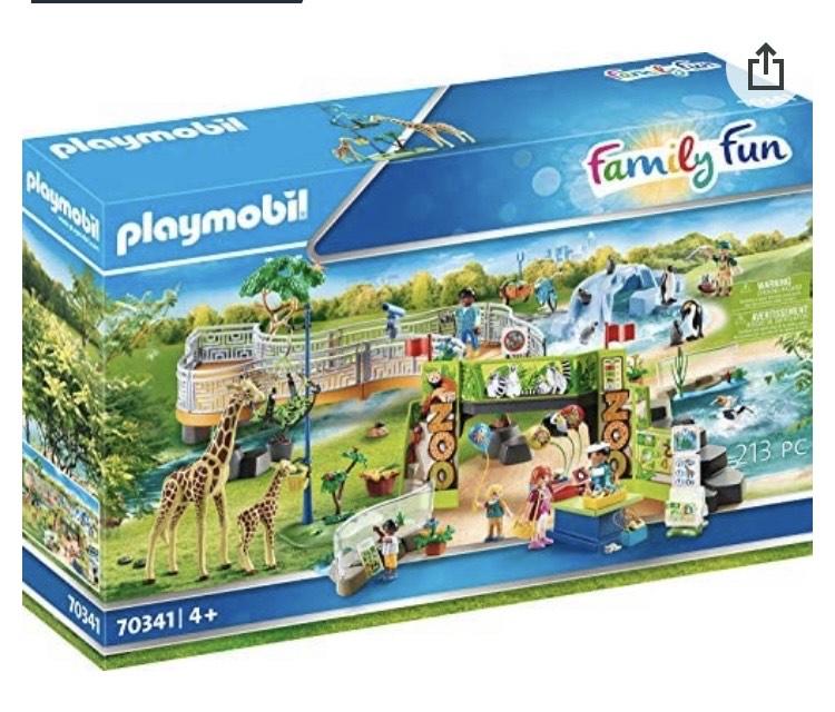 Playmobil Family Fun 70341 Mein großer Erlebnis-Zoo