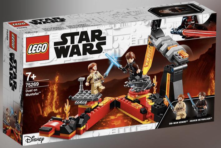 [LOKAL / Kaufland Karlsruhe] LEGO Star Wars - 75269 Duell auf Mustafar™