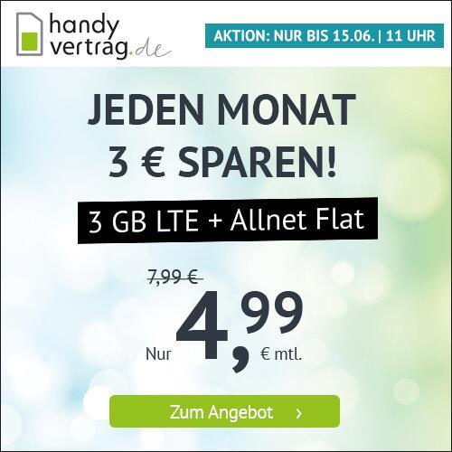 Drillisch KW23 Angebote: 3GB LTE Handyvertrag.de Tarif mtl. 4,99€ (mtl. kündbar) I 14GB LTE winSIM Tarif mtl. 12,99€ (3 Monate) [Telefonica]