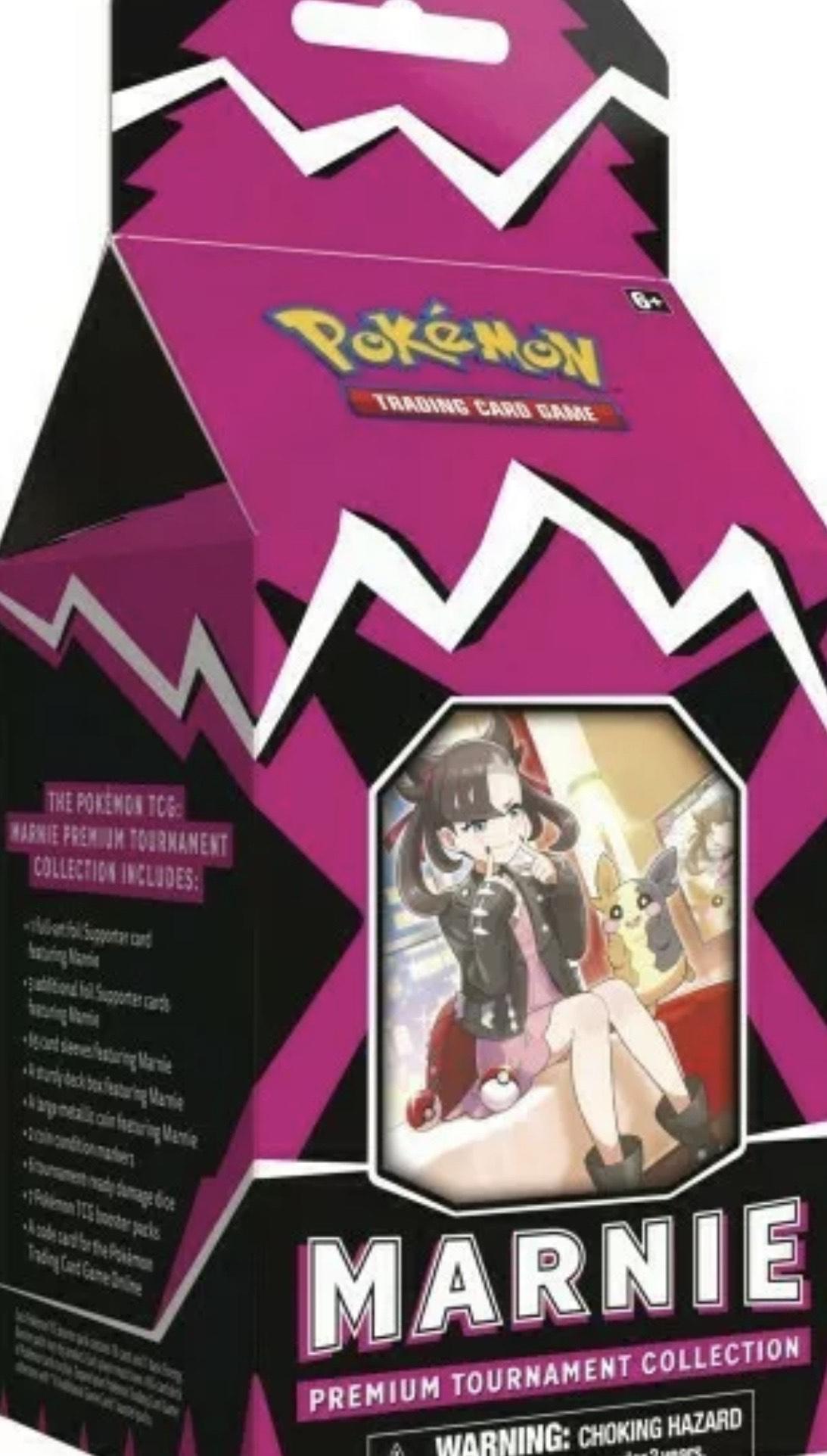 Vorbestellung Pokémon Marnie Premium Collection Box EN