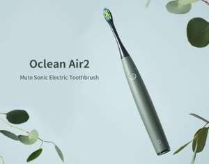 Oclean Air 2; elektrische Zahnbürste / Schallzahnbürste IPX7, in versch. Farben für 18,47€ Versand aus der EU