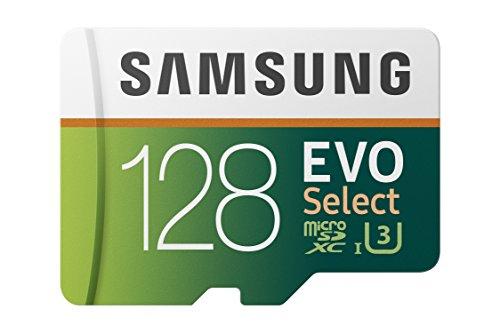 Samsung EVO Select microSDXC 128GB Kit, UHS-I U3, Class 10