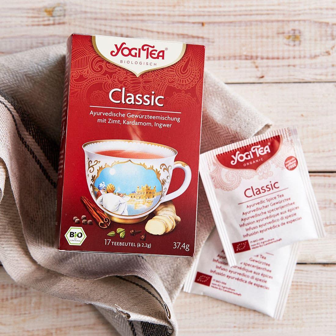 [Amazon] Tee für ganz Geduldige: 5x Yogi Tea Classic Bio für nur 7,20€   Stückpreis 1,44€ statt 2,85€   Lieferzeit 1 - 2 Monate