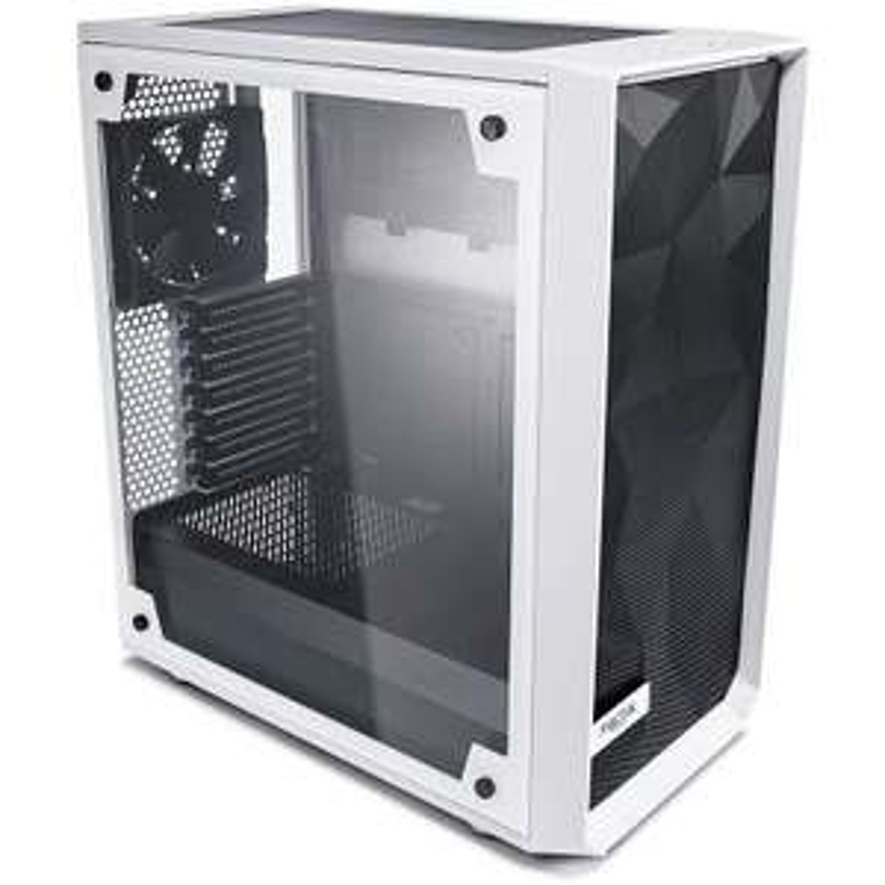 Fractal Design Meshify C White Tempered Glass Light PC-Gehäuse