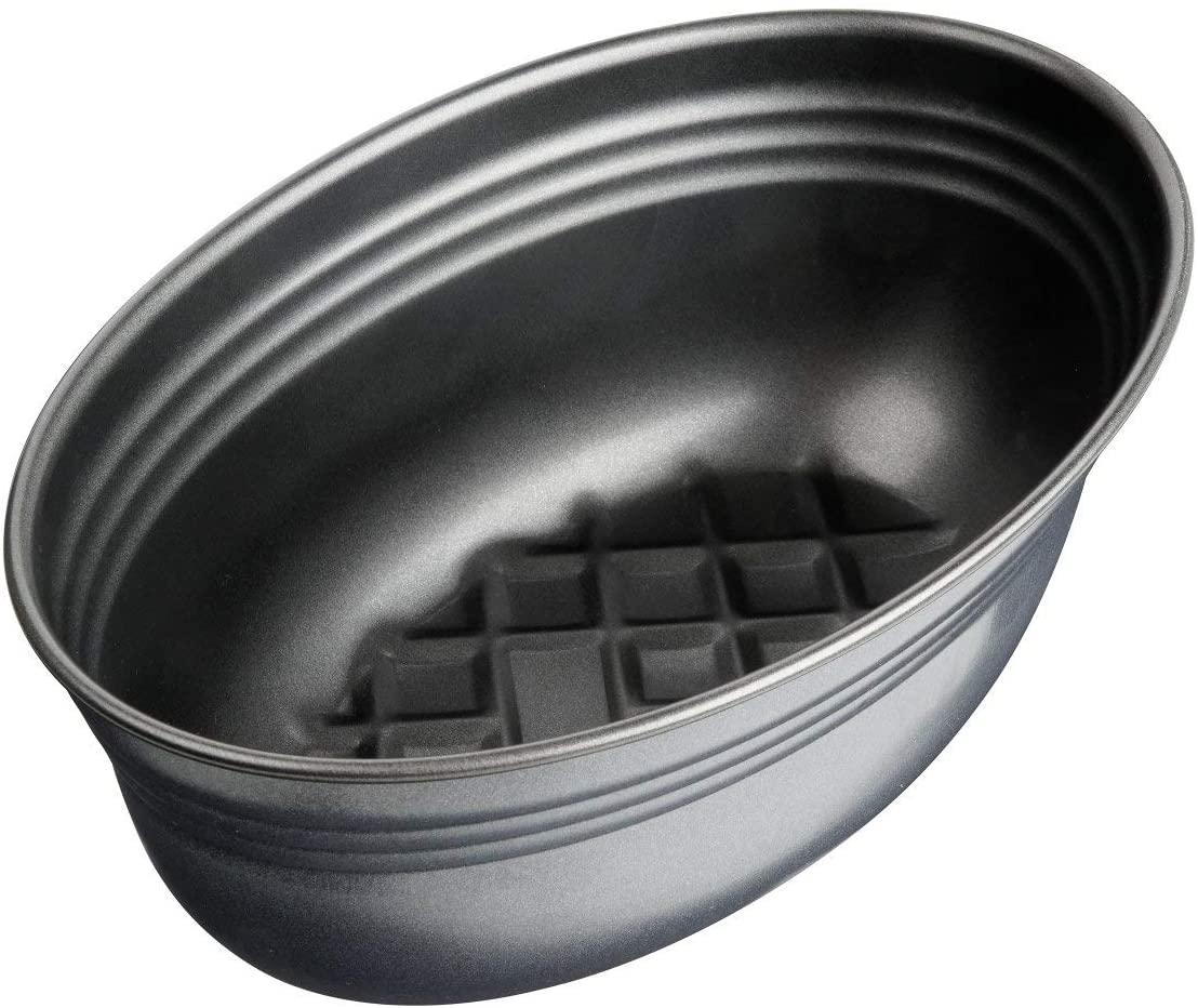 Zenker Brotform oval Black Metallic, Brotbackform mit keramisch verstärkt Antihaftbeschichtung