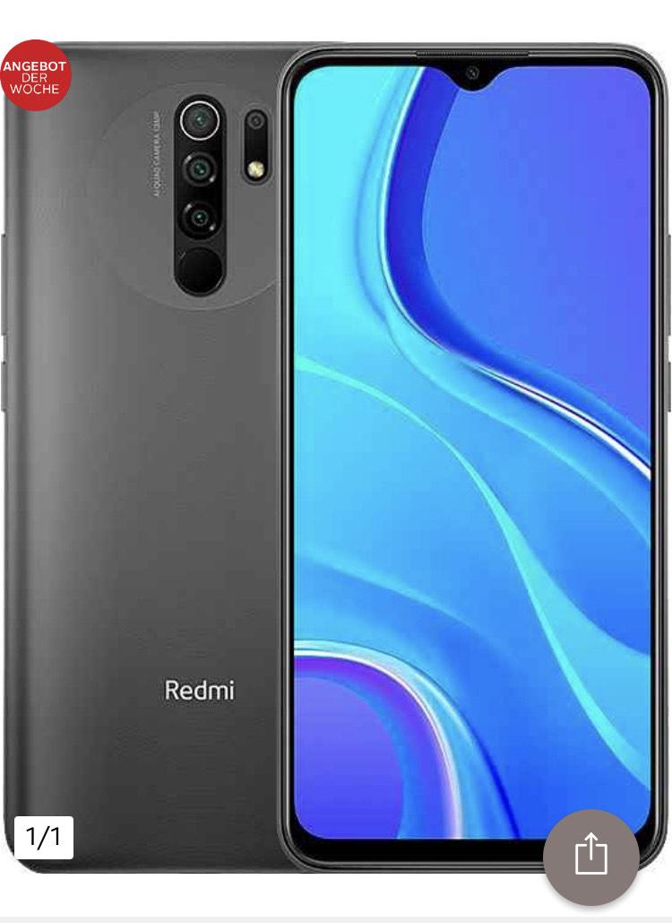 Xiaomi Redmi 9 Smartphone (16,59 cm/6,53 Zoll, 64 GB Speicherplatz, 13 MP Kamera)(Neukund*innen)