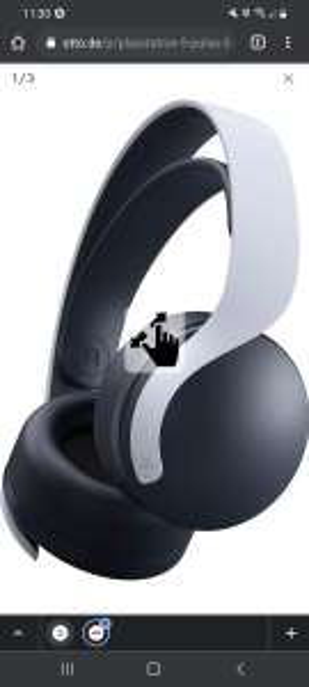 PS5 Sony Pulse 3D Headset 99.99€