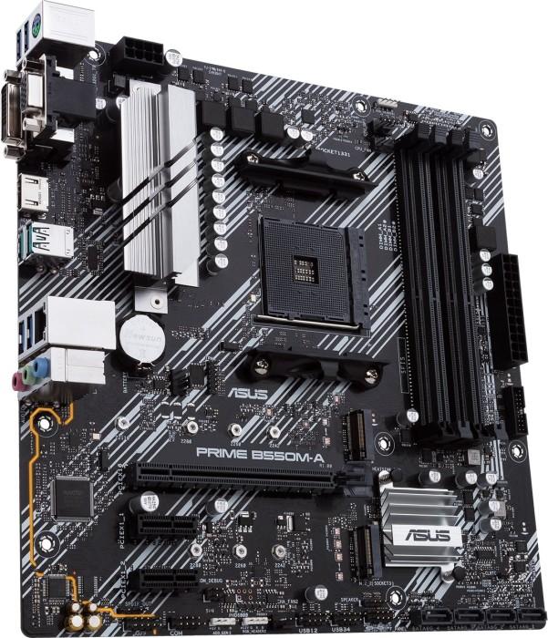 Asus Prime B550M-A Mainboard Micro ATX - Sockel AM4, 4x DDR4
