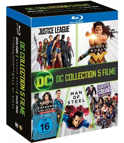 DC 5-Film Collection (7x Blu-ray) für 19,99€ (Media Markt Abholung)