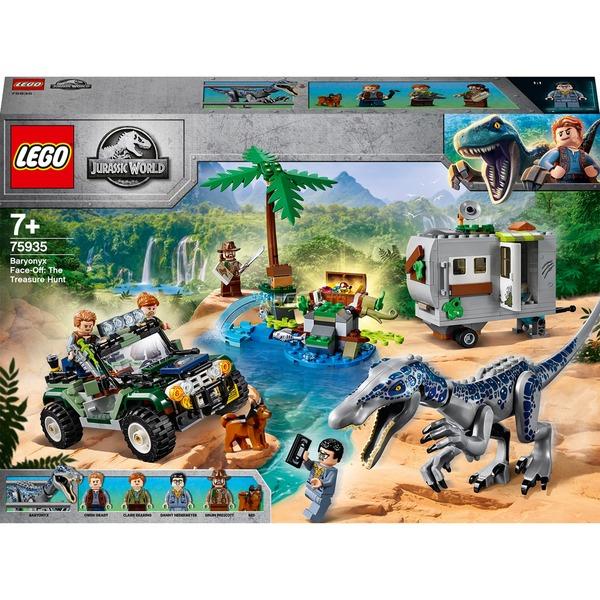 LEGO 75935 Jurassic World Baryonyxs Kräftemessen: die Schatzsuche, Konstruktionsspielzeug