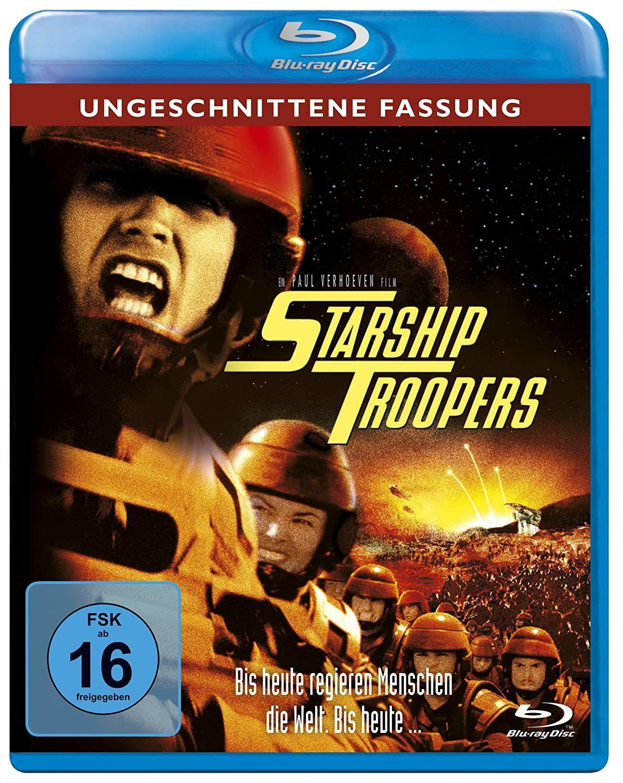 (Prime) Starship Troopers - Ungeschnittene Fassung [Blu-ray]