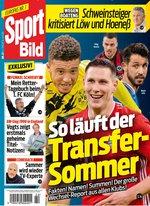Sport Bild Abo (55 Ausgaben) für 121,38 € mit 80 € BestChoice-Universalgutschein/ 75 € Amazon-Gutschein