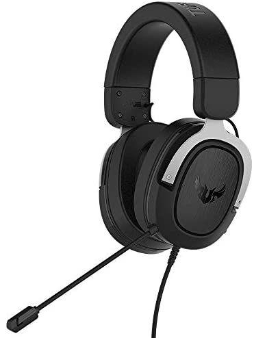 ASUS TUF Gaming H3 Headset (kabelgebunden, virtueller 7.1-Surround-Sound, geeignet für für PC, PS4, Xbox One und Nintendo Switch)