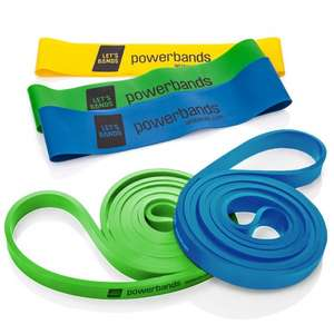 Let's Bands powerbands Set Pro HOMEGYM