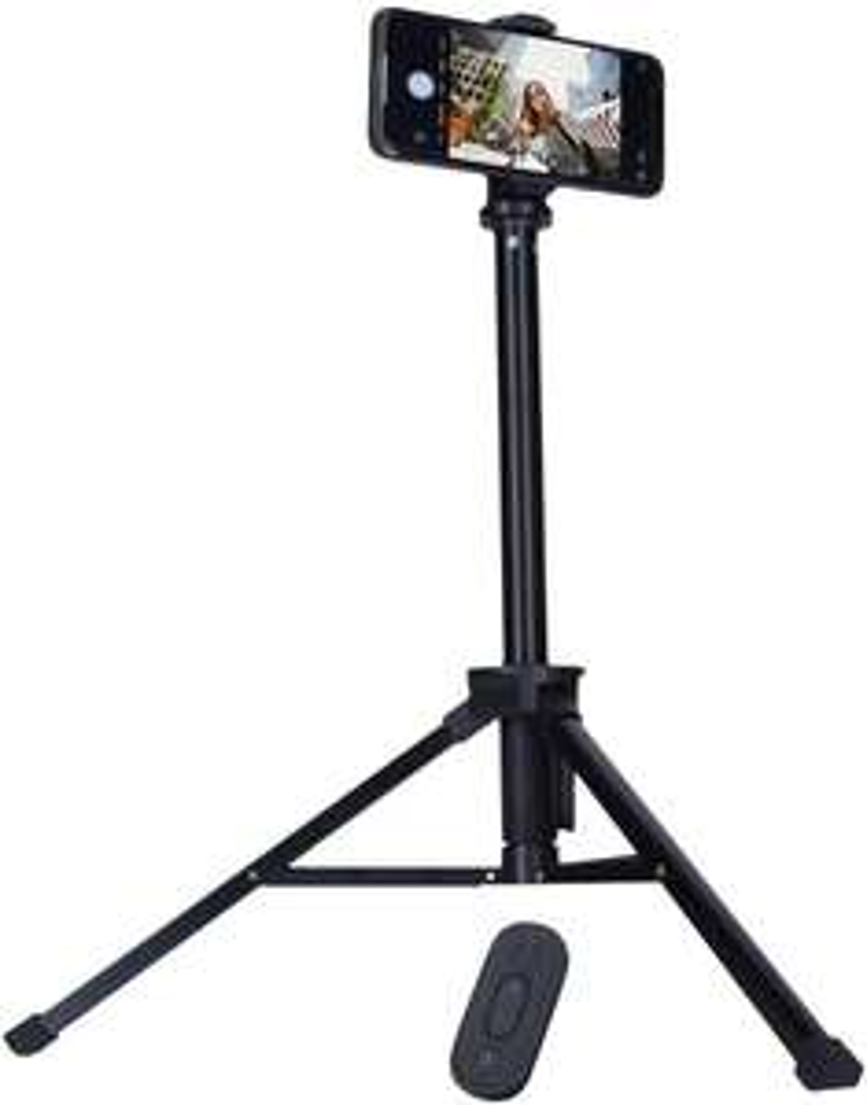 Rollei Comfort Max Live Streaming Stativ, mit Smartphone-Halterung und Fernauslöser [Amazon Marketplace]
