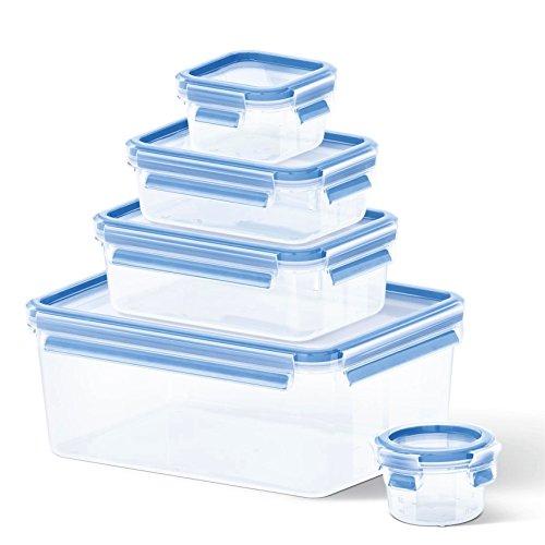 [Prime] Tefal Master Seal Frischhaltedosen Set | 5 tlg. 0,15 bis 3,7 L