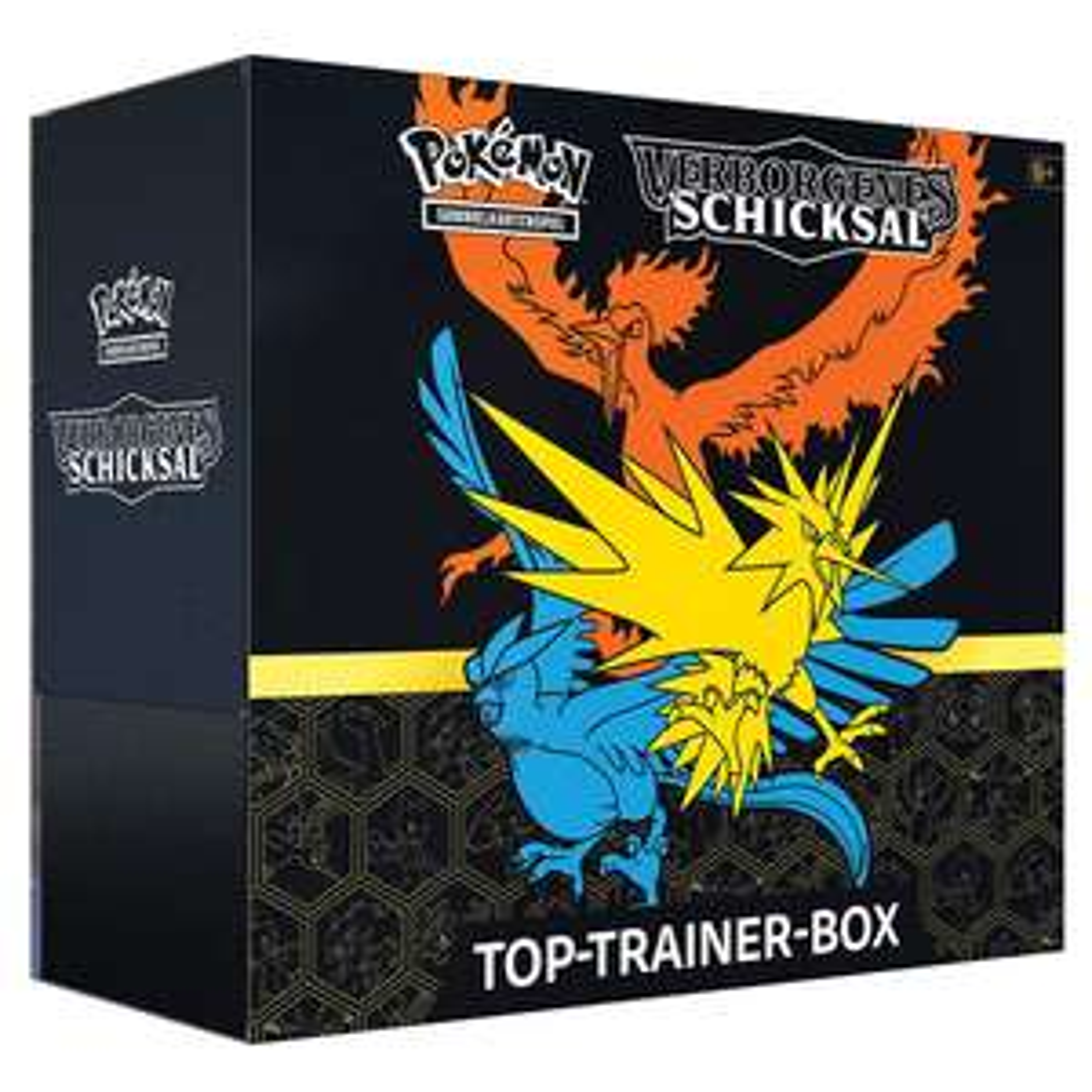Pokemon Verborgenes Schicksal Top-Trainer-Box