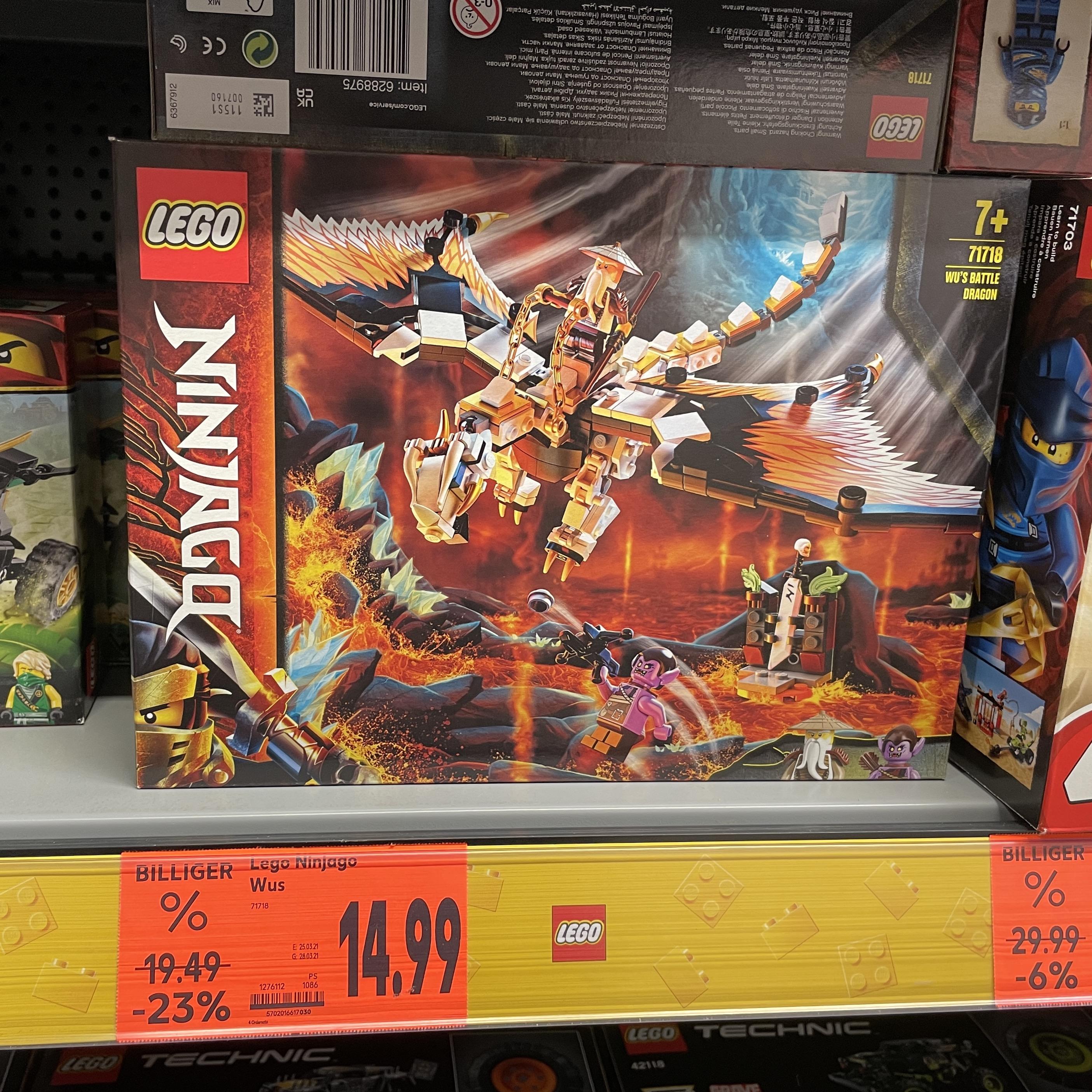 [Lokal Leipzig] Kaufland, LEGO Ninjago - Wus gefährlicher Drache (71718)