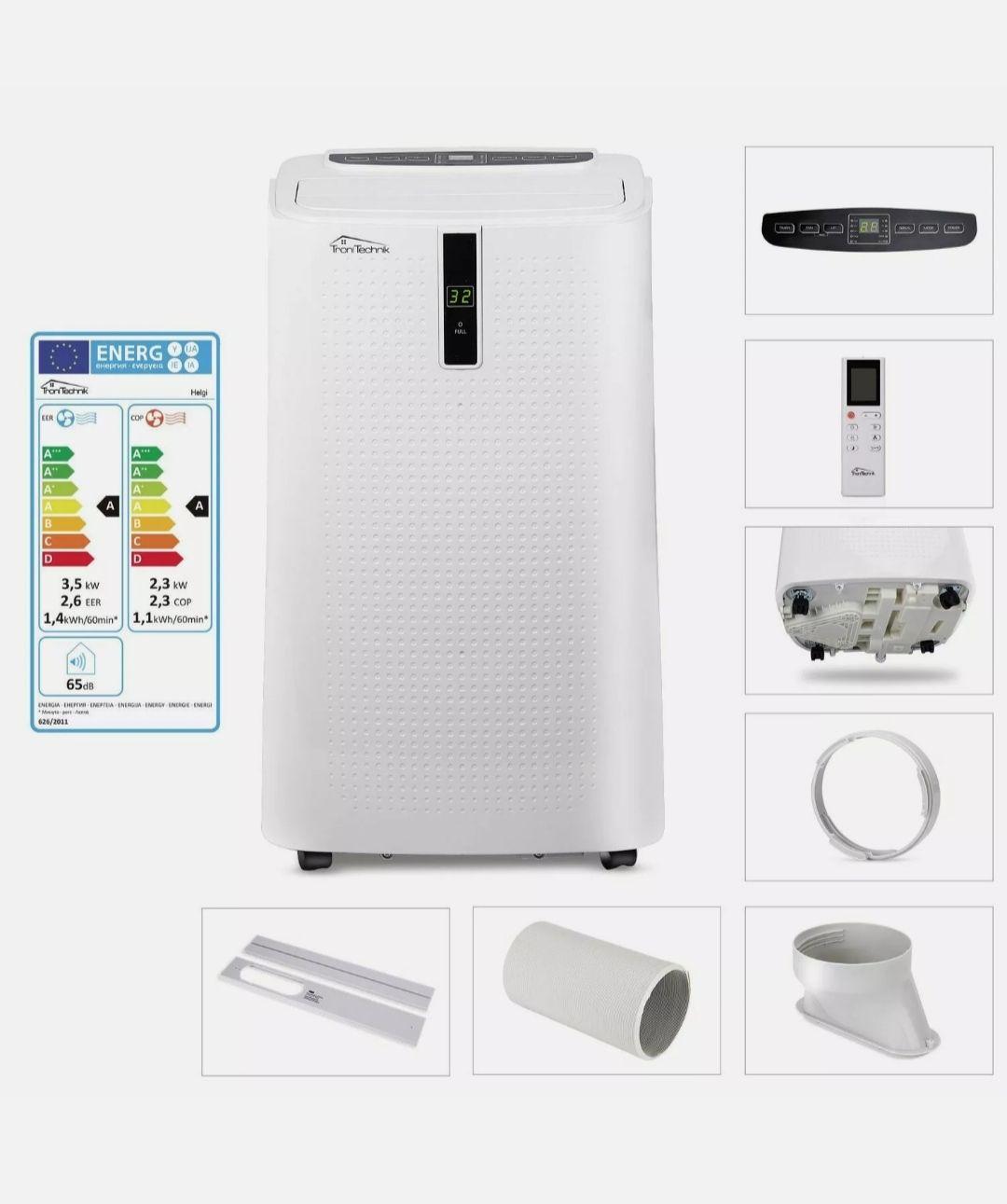 Mobiles Klimagerät HELGI 12000 BTU C-Ware Neupreis ca. 320€