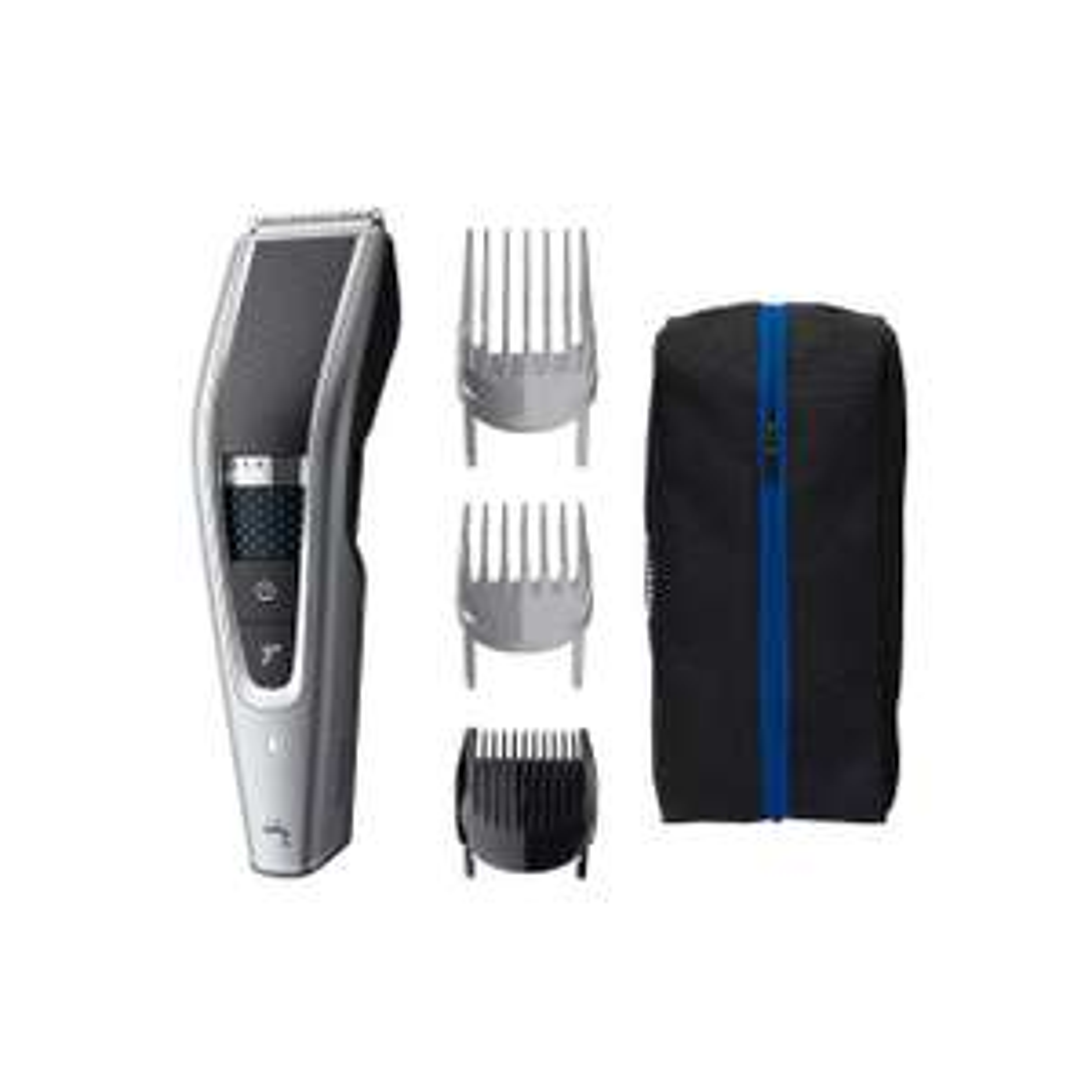 Philips HC5630/15 Hairclipper - abwaschbarer Haarschneidemaschine mit 28 Längeneinstellungen (0,5 bis 28 mm) 3 Kammaufsätzen und Turbo Modus