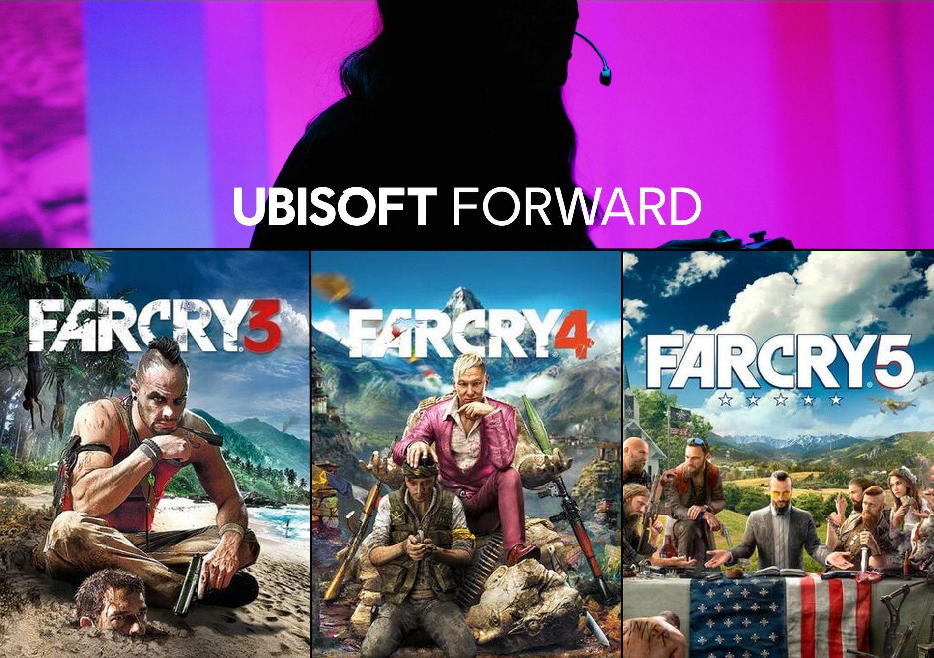 Ubisoft Forward Sale mit 10€ Rabatt ab 15€: z.B. Far Cry 3 + 4 + 5 für 8€ | Immortals Fenyx Rising für 20€ [PC Uplay]