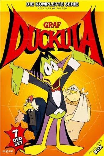 """[ Amazon / Prime ] [ DVD ] Graf Duckula - """"Geschichten mit Biß"""" / Die komplette Serie / 7 DVDs / 52 Folgen"""