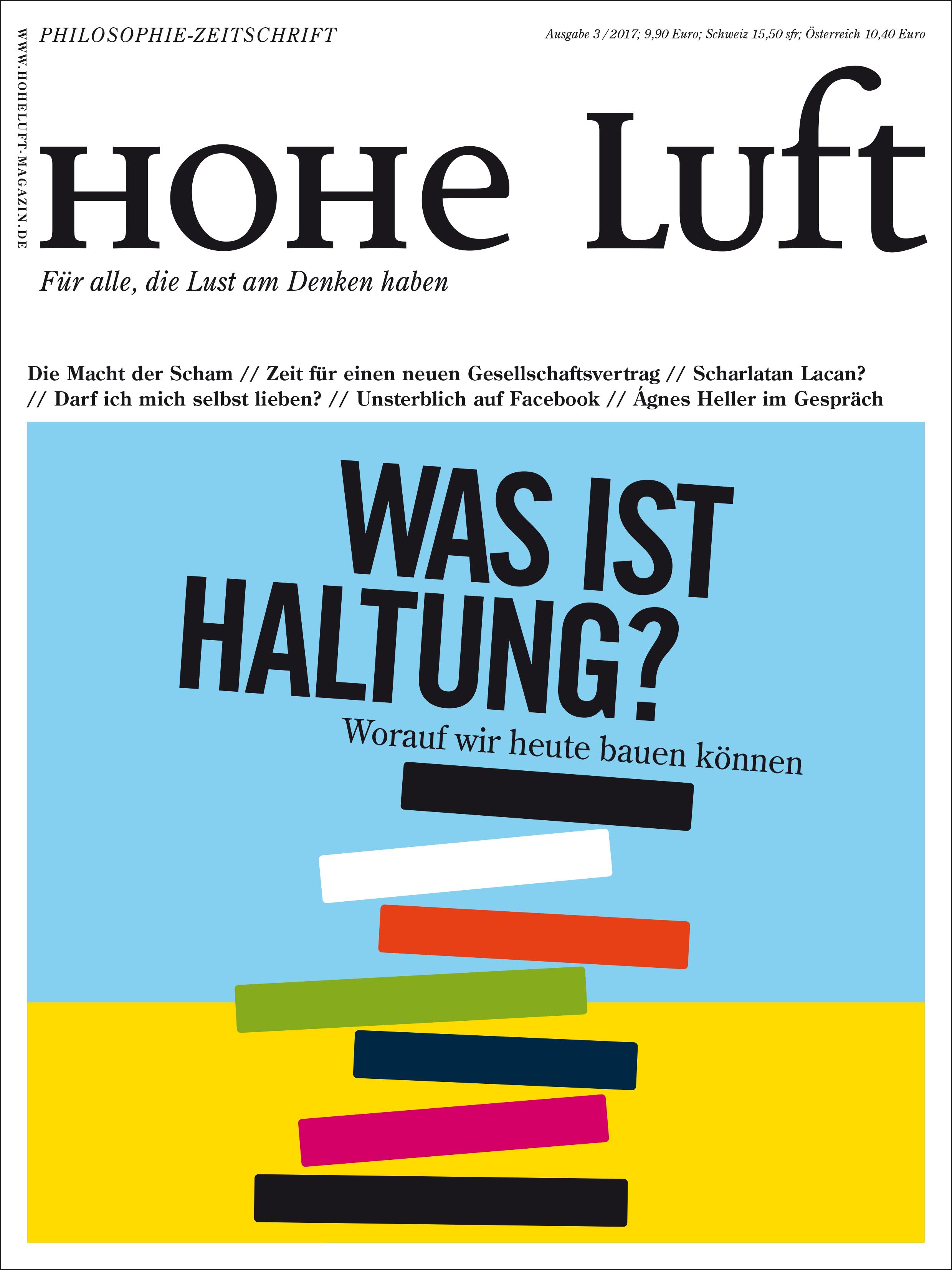 Hohe Luft Abo (6 Ausgaben) für 44,92 € mit einem 25 € BestChoice-Universalgutschein /20 € Scheck