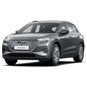 [Gewerbeleasing + Eroberung] Audi Q4 e-tron (170 PS, 55 kWh) mtl. 89€ + 609€ ÜF, LF 0,25, GF 0,32, 24 Monate, BAFA (Privat mtl. 219€)