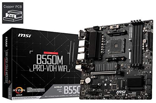 Mainboard MSI B550M PRO-VDH WiFi