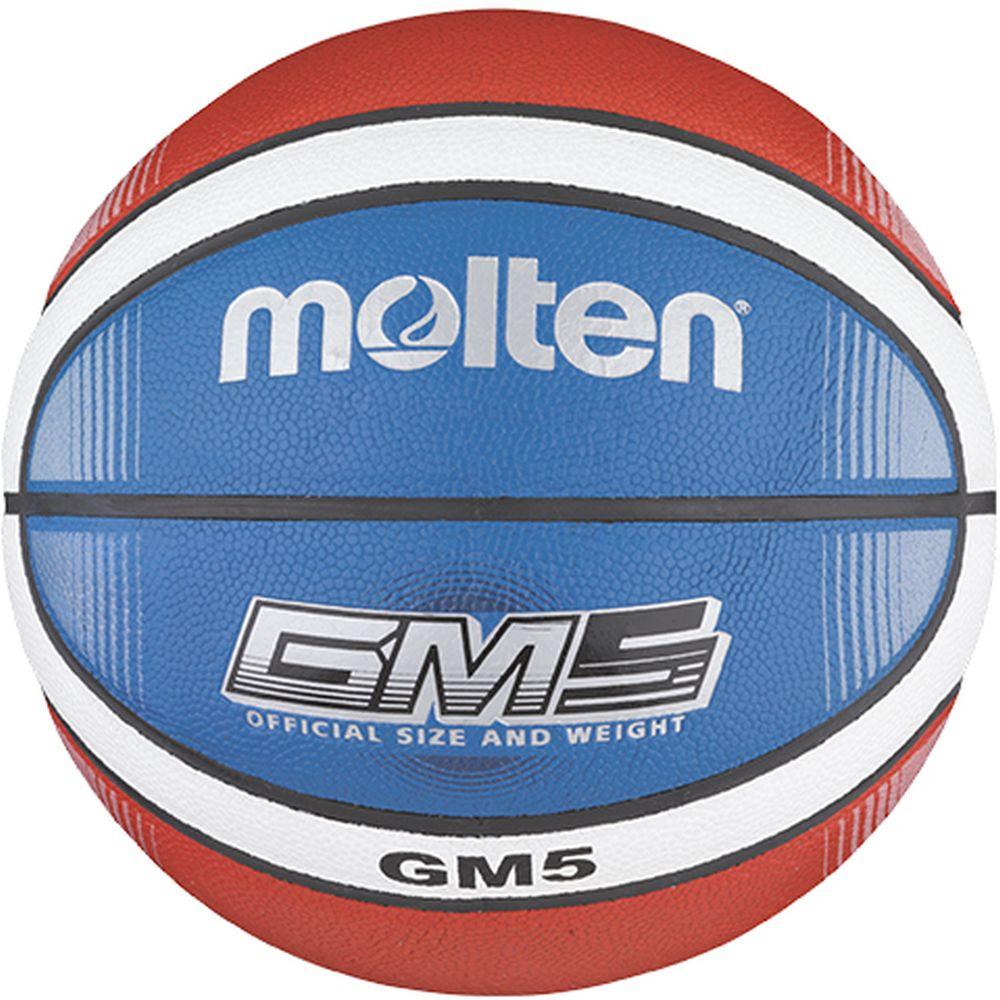 Molten BGMX5-C Basketball, Trainingsball Blau Gr. 5 (offiziell für Kinder bis 12 Jahre) für 11,99€ + 4,95€ Versand