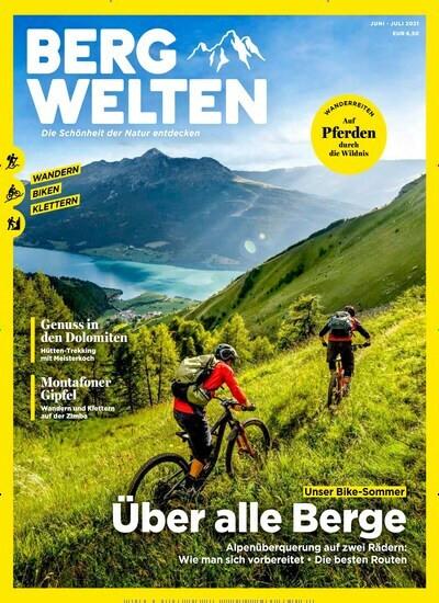 Bergwelten Abo (8 Ausgaben) für 48 € mit einem 40 € Amazon-Gutschein/ 35 € Scheck