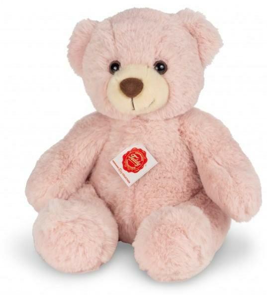 Teddy Hermann 91367 - Teddy Dusty, Teddybär rose, 30 cm, ab Geburt [Thalia KultClub]