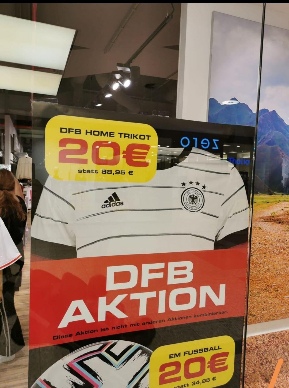 LOKAL SportScheck Kassel DFB Heimtrikot 2020 alle Größen