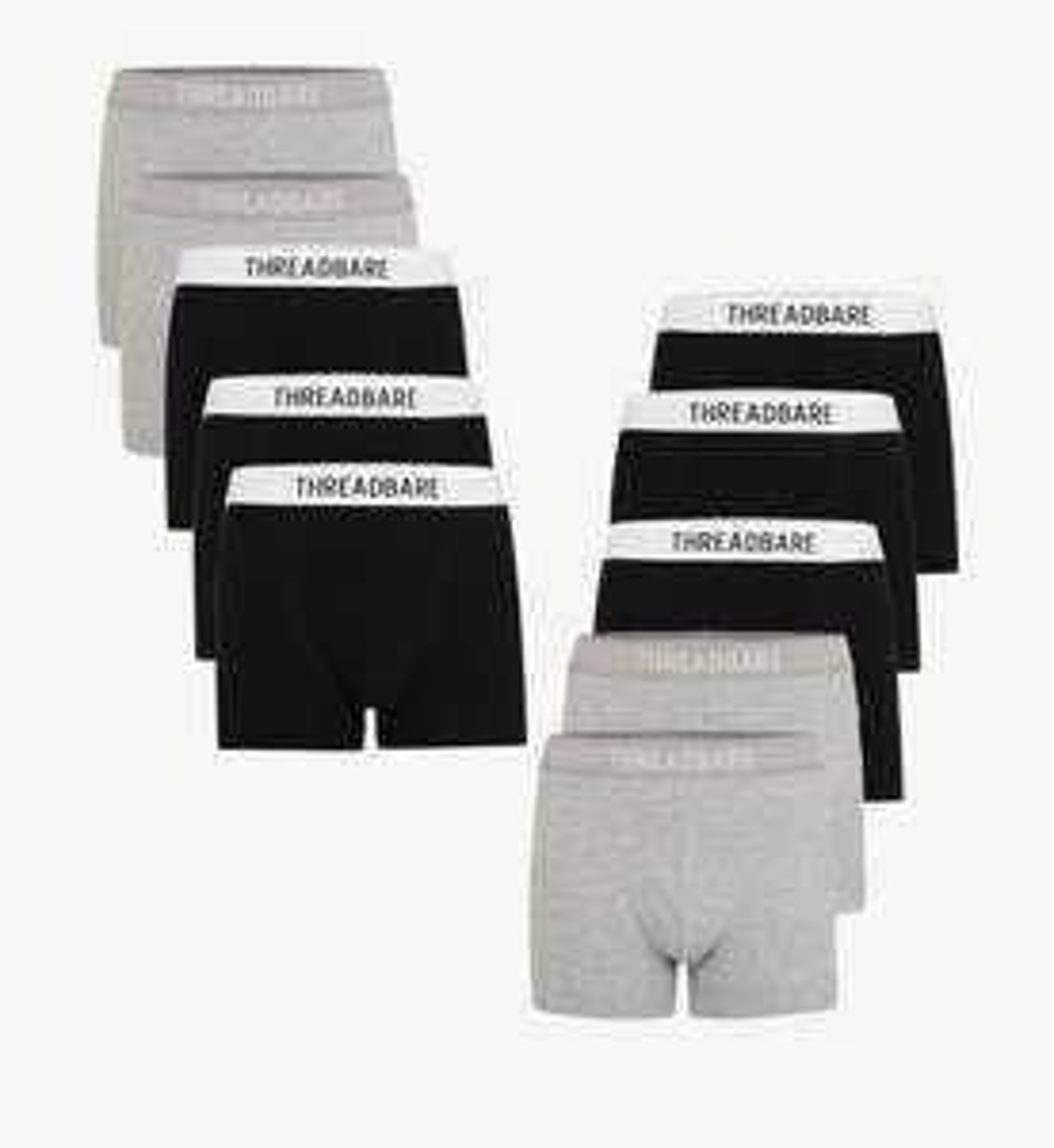 10 Pack of Threadbare Underpants Now €19.95 @ Zalando