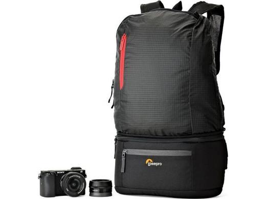 Lowepro 2-in-1-Kamera-Rucksack Passport Duo (Gürteltasche und Rucksack in einem, Wetterfest) [iBOOD]