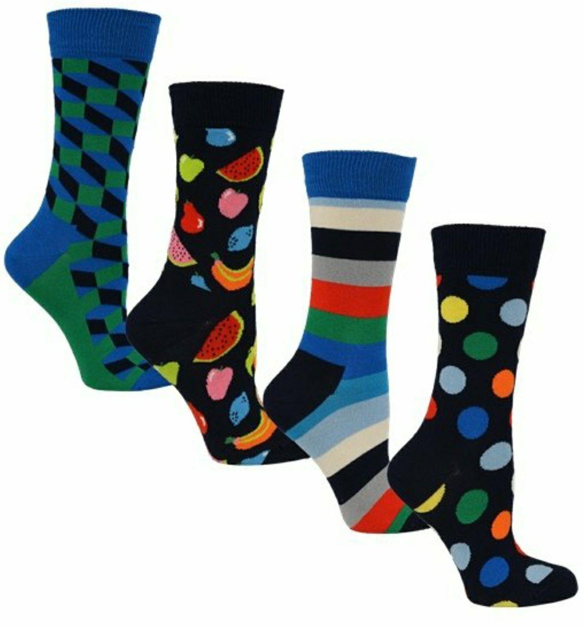 Happy Socks 4er-Pack (Paar=3,61€)