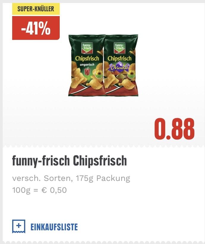 FunnyFrisch Chipsfrisch 175g Tüten