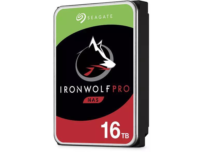Seagate IronWolf Pro NAS HDD +Rescue 16TB, SATA 6Gb/s (ST16000NE000)