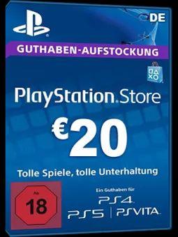 PSN Card 20 Euro [DE] - Playstation Network Guthaben