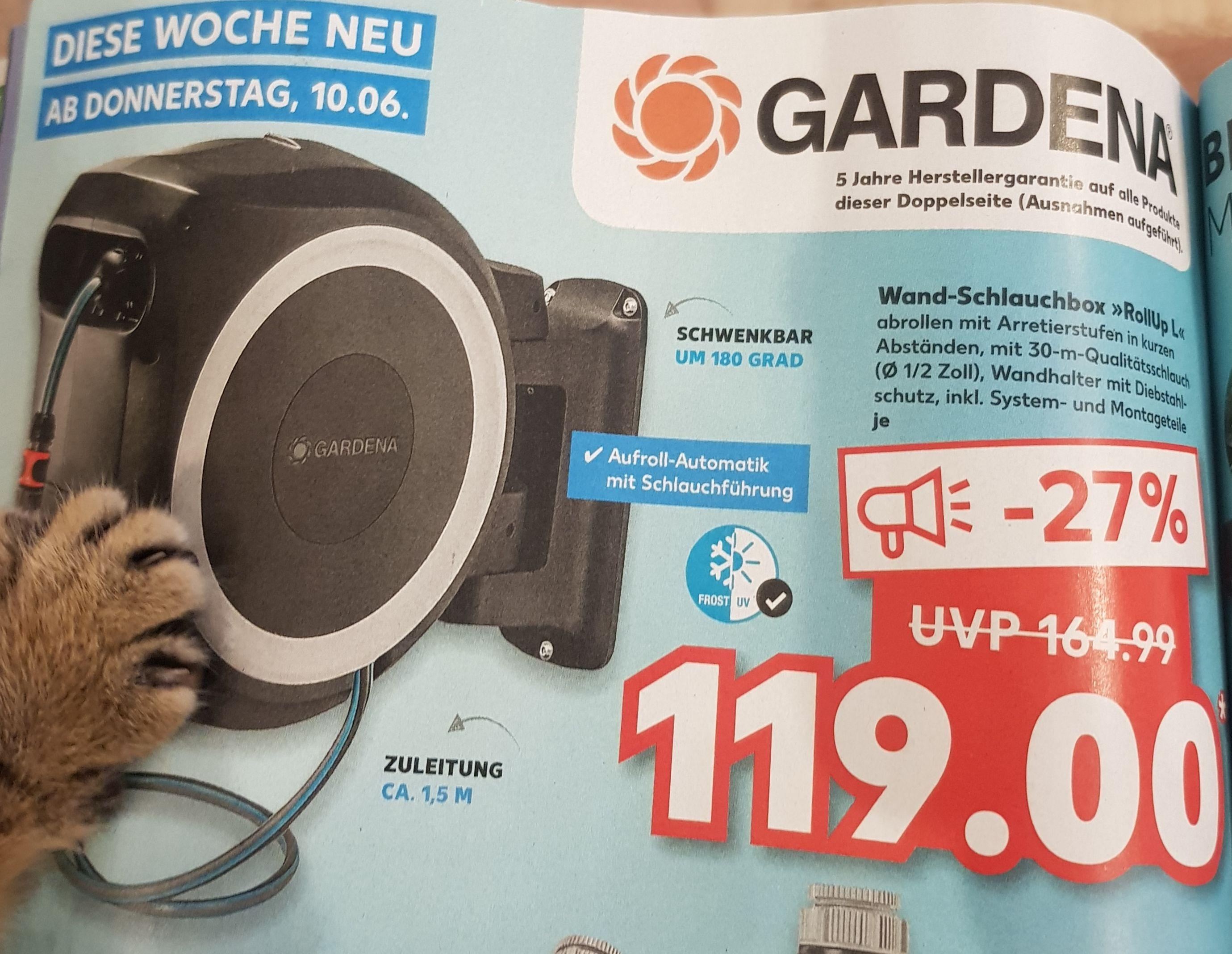 Gardena Wand Schlauchbox 30 Meter lokal? Heilbronn und Landkreis