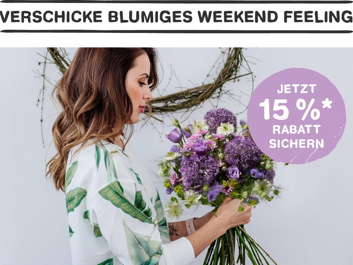 BLUME2000 15% Rabatt auf viele ausgewählte Blumen, Pflanzen, kl. Bäume & Stämme, Orchideen, Kräuter, ... - Blume 2000