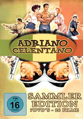 (Amazon Prime) Adriano Celentano - SAMMLER EDITION * 7 DVD'S mit 20 Filmen u.a. Bluff, Der gezähmte Widerspenstige & Gib dem Affen Zucker
