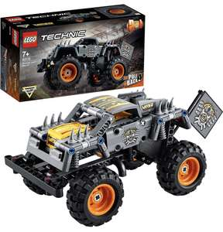 (Prime) LEGO 42119 Technic Monster Jam Max-D Truck-Spielzeug oder Quad , 2-in-1 Bauset