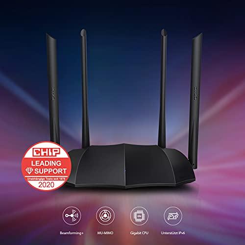 AC1200 Dual-Band Router Tenda AC8 -23% bei Amazon
