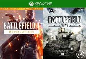 Battlefield 1 Revolution + Battlefield 1943 (Xbox One) für 2,39€ (Cdkeys)